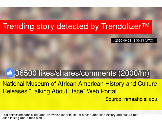 National Museum Of African American History And Culture Releases Talking About Race Web Portal